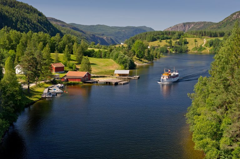 Experience a piece of nautical history on the Telemark canal