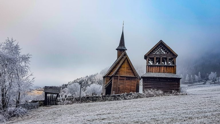 The valley of stave churches